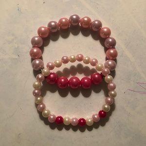 Jewelry - Breast Cancer Awareness Pink Bracelets
